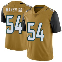 Cassius Marsh Jacksonville Jaguars Men's Limited Color Rush Vapor Untouchable Nike Jersey - Gold