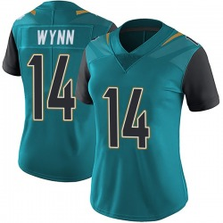 Shane Wynn Jacksonville Jaguars Women's Limited Vapor Untouchable Team Color Nike Jersey - Teal