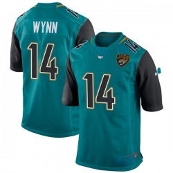 Shane Wynn Jacksonville Jaguars Youth Game Team Color Nike Jersey - Teal